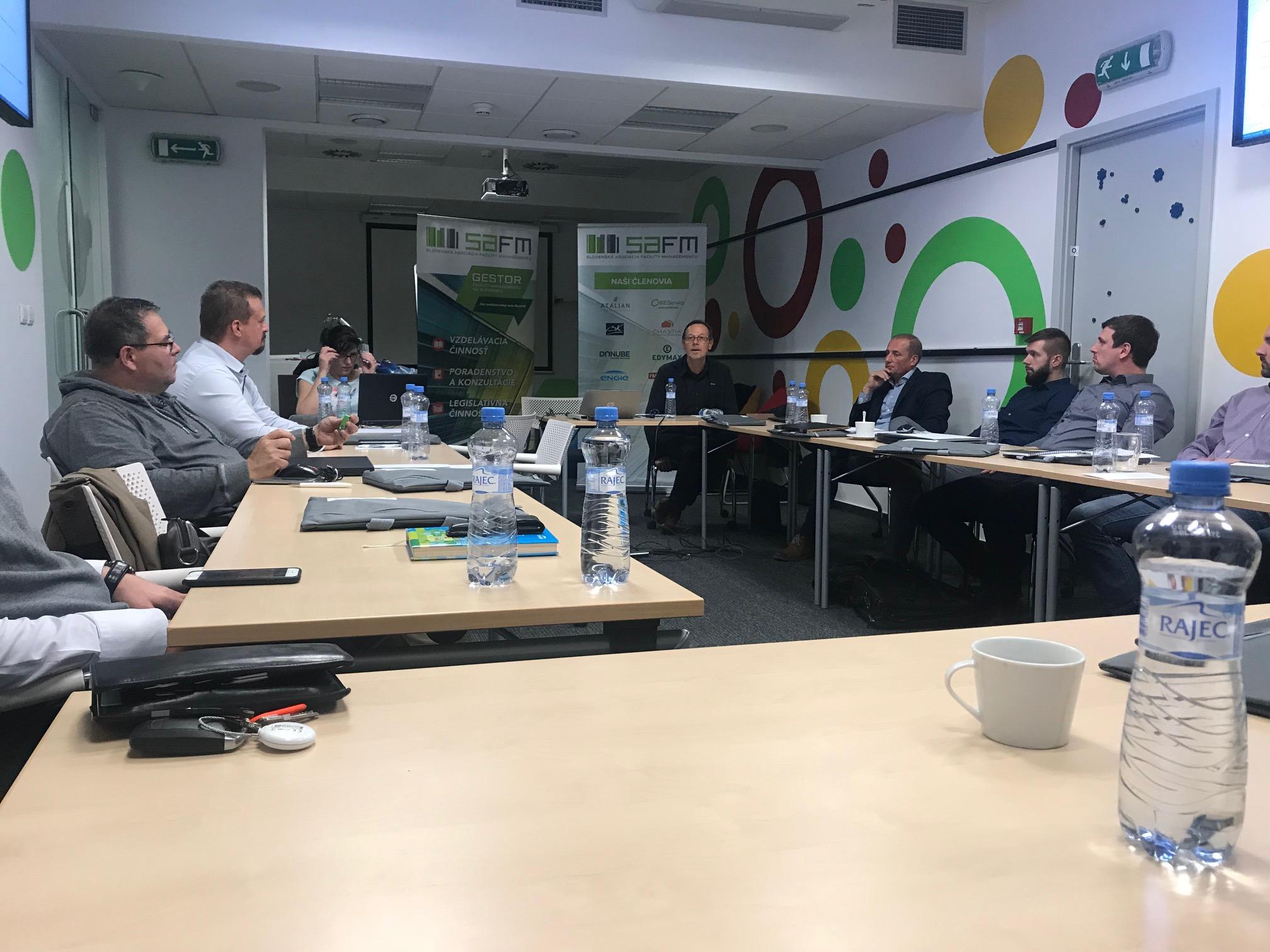 Valné zhromaždenie Slovenskej Asociácie Facility Managementu