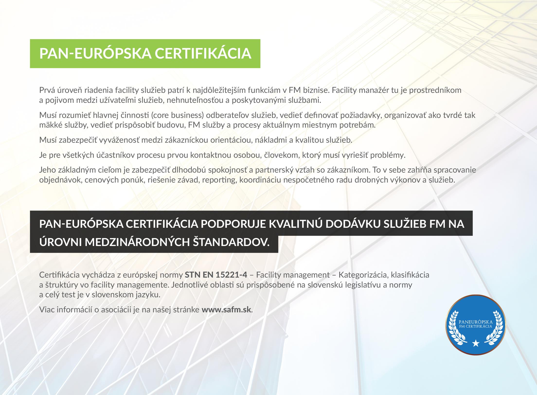 Potvrďte svoju odbornú kvalifikáciu Certifikátom
