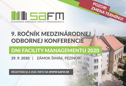 NOVÝ TERMÍN – Dni Facility Managementu 2020